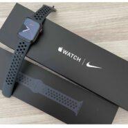 ساعت هوشمند اپل واچ سری6 44میلیمتر مدل 44mm Space Gray Aluminum Case with Nike Sport Band